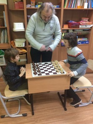Children Enjoy Chess Therapy